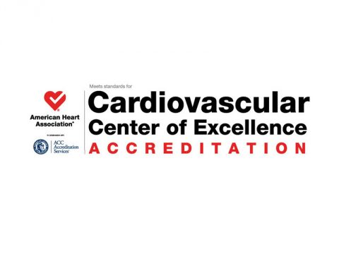 Cardiovascular Center of Excellence Accreditation. (American Heart Association)