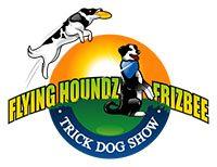 Flying Houndz Frizbee Trick Dog Show