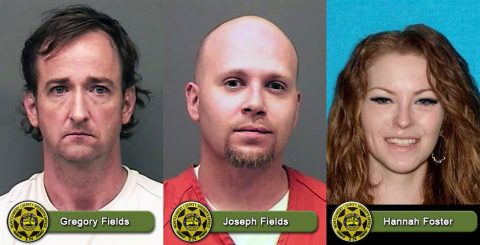 MCSO Warrant Wednesday - Gregory Fields, Joseph Fields, and Hannah Foster