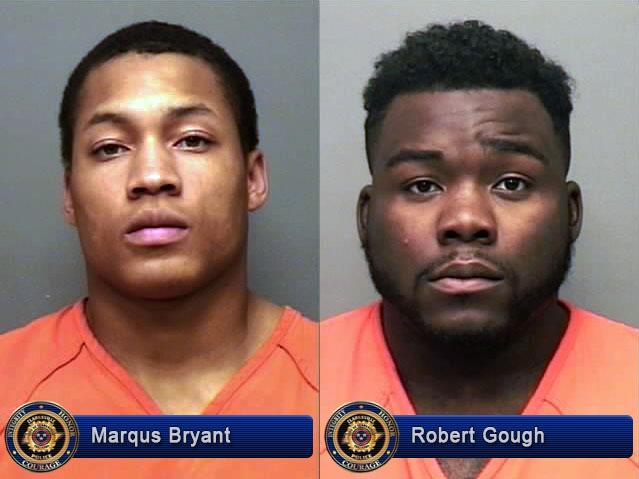 Marqus Bryant and Robert Gough