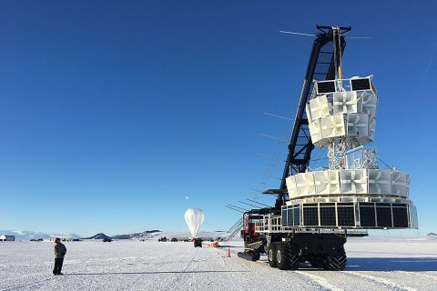 NASA launches Antarctic Impulsive Transient Antenna (ANITA) from Antarctica's Ross Ice Shelf on December 2nd, 2016 at 8:10am ET.
