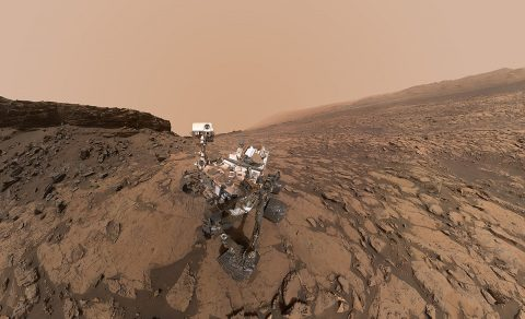 A selfie taken by Curiosity the Mars rover in the Murray Buttes area. NASA's Journey to Mars, a plan aimed at building on robotic missions to send humans to the red planet, could be helping lay the groundwork. (NASA/JPL-Caltech/MSSS)
