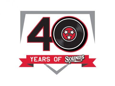 Nashville Sounds 40th Anniversary