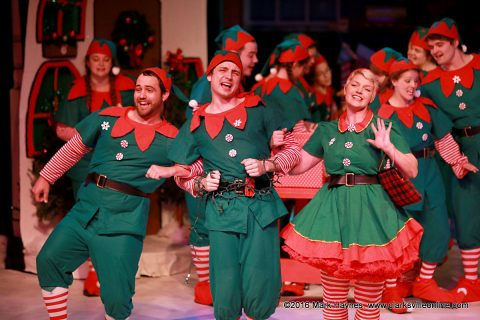"""The Happy Elf"" final performances at the Roxy Regional Theatre are Wednesday through Saturday afternoon."
