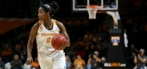 Tennessee Lady Vols' Senior Guard Jordan Reynolds Gets Third Triple-Double in Program History. (Donald Page/Tennessee Athletics)