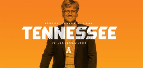 The Tennessee Lady Vols open a five-game homestand against the Mountaineers on Wednesday. (Tennessee Athletics Department)