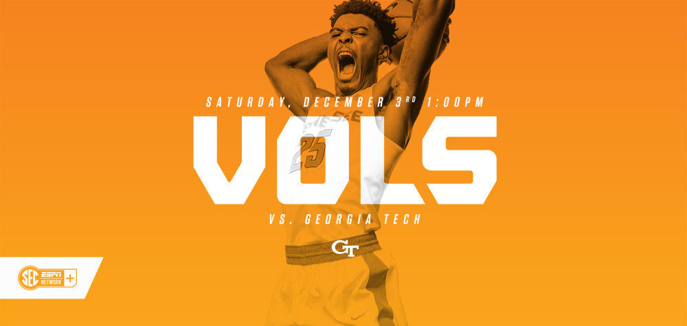 Tennessee and Georgia Tech meet for the 71st time on Saturday at Thompson-Boling Arena. (UT Athletics Department)
