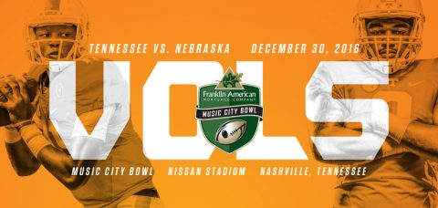 Tennessee Volunteers will play Nebraska on December 30th at Nissan Stadium in the Vols' 52nd bowl game. (Tennessee Athletics Department)