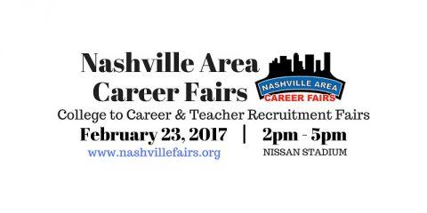 2017 Nashville Area Career Fair