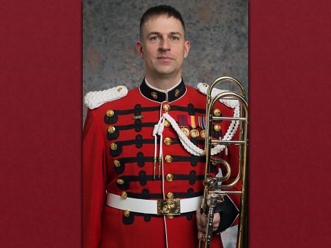APSU Alum Gunnery Sgt. Samuel Barlow