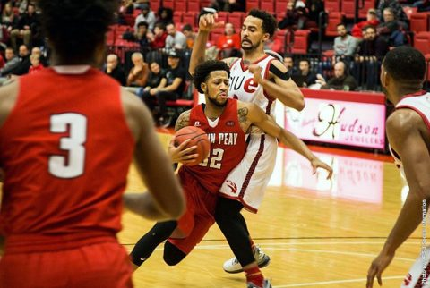 Austin Peay Men's Basketball gets 83-81 win at SIU Edwardsville Thursday night. (APSU Sports Information)