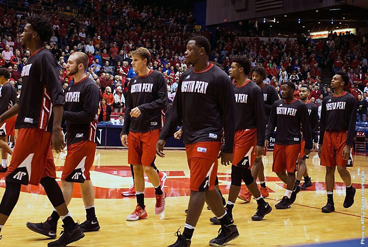 Austin Peay Governors take on Southeast Missouri Saturday night at the Dunn Center. (APSU Sports Information)