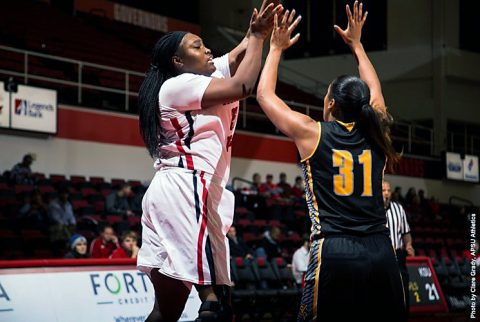 Austin Peay Women's Basketball heads east to Cookeville to take on Tennessee Tech Golden Eagles Thursday at 5:30pm. (APSU Sports Information)