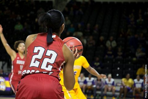 Austin Peay Women's Basketball beats Tennessee Tech in overtime 87-84 in Cookeville Thursday night. (APSU Sports Information)