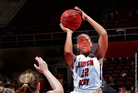 Austin Peay Women's Basketball gets decisive win over SIU Edwardsville Wednesday night at the Dunn Center. (APSU Sports Information)
