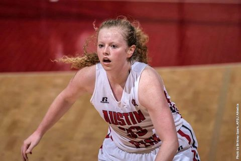 Austin Peay sophomore guard Falon Baker sparks offense to win over Eastern Illinois Saturday. (APSU Sports Information)