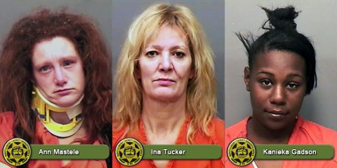Ann Mastele, Ina Tucker and Kanieka Gadson