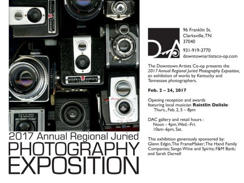 Clarksville Downtown Artists Co-op to hold 2017 Annual Juried Photo Expo