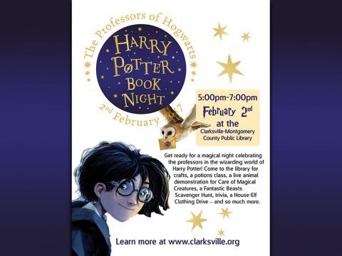 Clarksville-Montgomery County Public Library Harry Potter Book Night
