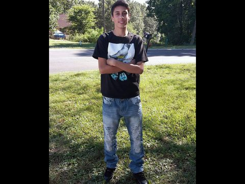 Clarksville Police are searching for runaway juvenile David Amhrein.