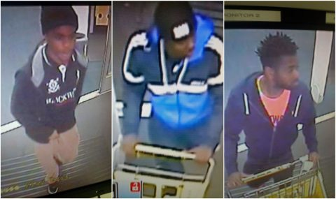 Clarksville Police are trying to identify the persons in these photos. Anyone who recognizes one or more of these suspects or who has information about this incident is asked to contact Detective Dennis Honholt at 931.648.0656 Ext 5260, or call the CrimeStoppers TIPS Hotline at 931.645.TIPS (8477).