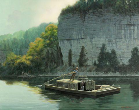 Drifting Downriver. (David Wright)