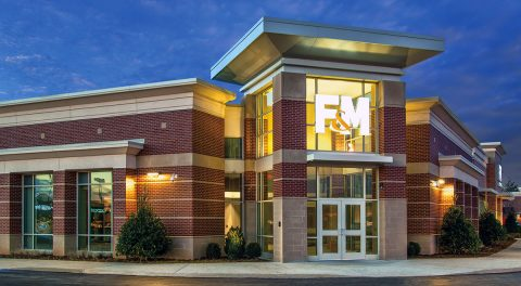 F&M Bank's new 10,000 sq. ft. office at 221 Indian Lake Boulevard in Hendersonville Tennessee.