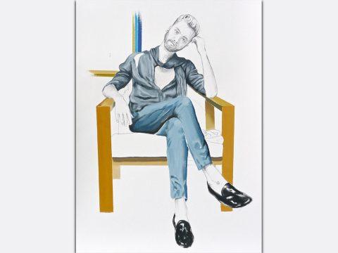 Portrait of Gunnar Deatherage by David Iacovazzi-Pau