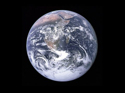 This classic photograph of the Earth was taken on December 7, 1972. (NASA)