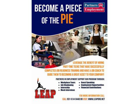 LEAP's Partners in Employment (PIE) Initiative