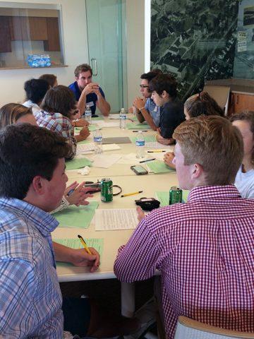 MCHS Academy team begins developing app concept