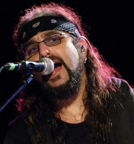 The incomparable Mike Portnoy on the road again in Music City.