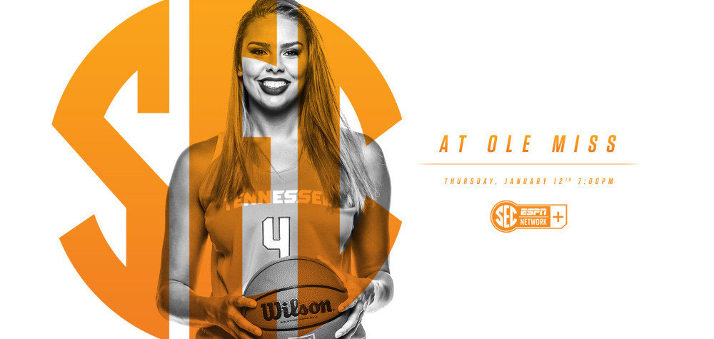 Tennessee Women's Basketball faces Ole Miss Thursday at Oxford. Tip off is set for 6:02pm CT. (Tennessee Athletics Department)