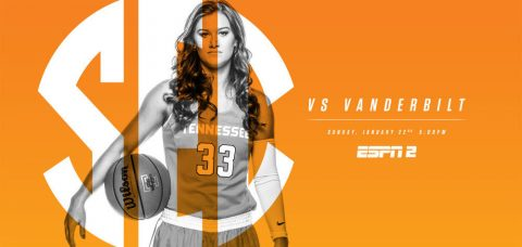 Tennessee Women's Basketball hosts Vanderbilt Commodores Sunday at Thompson-Boling Area. (Tennessee Athletics Department)
