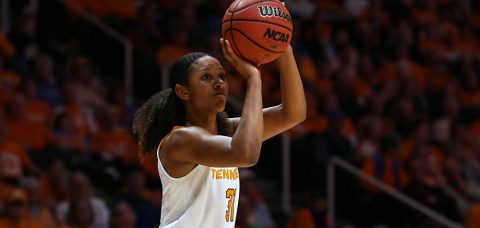 Tennessee Lady Vols earn their third Top-10 win of the season behind late free throws from Jaime Nared. (Tennessee Athletics Department)