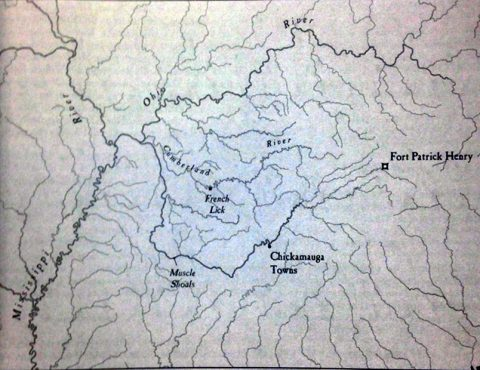 Tennessee River Systems, 18th Century