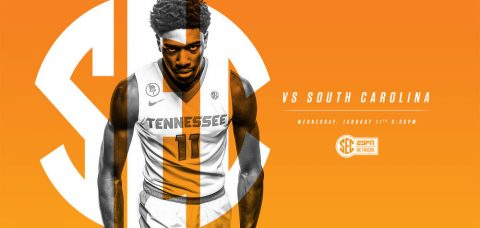 Tennessee and South Carolina tip off at 5:30pm CT on Wednesday night at Thompson-Boling Arena. (Tennessee Athletics Department)