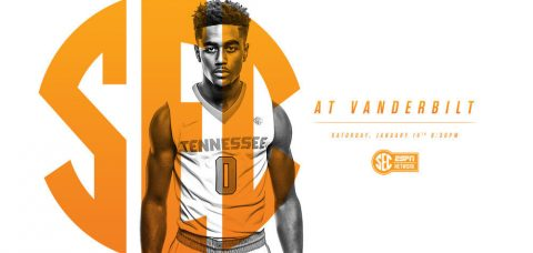 The 192nd meeting between the Tennessee Vols and Vanderbilt Commodores tips off Saturday at 7:30pm CT on SEC Network. (Tennessee Athletic Department)