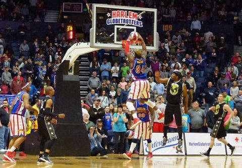 The Harlem Globetrotters are always slam-dunk entertainment.
