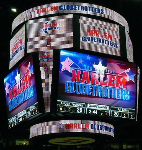 What do you know – the Globetrotters win again in Nashville.