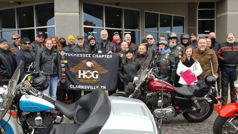 Tuckessee Chapter of the Harley Owner's group to host it's annual Open House, Saturday night beginning at 6:00pm.