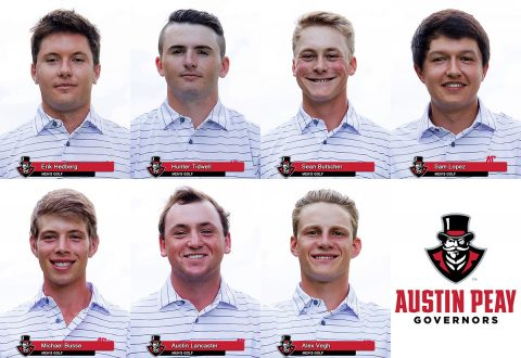 2016-17 Austin Peay Men's Golf Team
