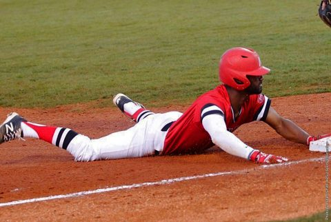 Austin Peay Baseball falls to Indiana State Sunday night at Raymond C. Hand Park, 12-9. (APSU Sports Information)