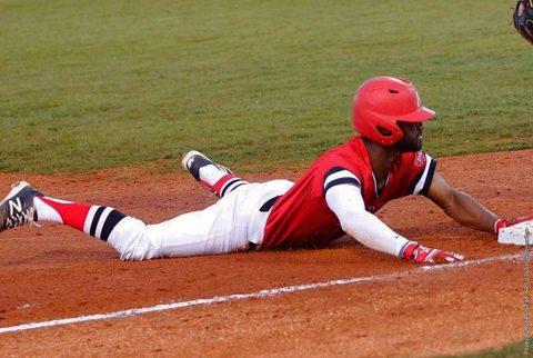 Austin Peay Baseball falls to Indiana State Sunday night at Raymond C. Hand Park, 12-9. (APSU Sports Information)