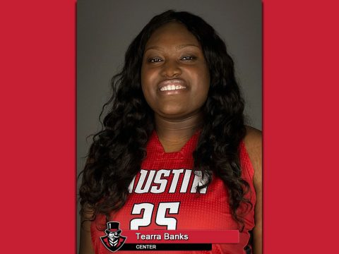 Former APSU Basketball star Tearra Banks