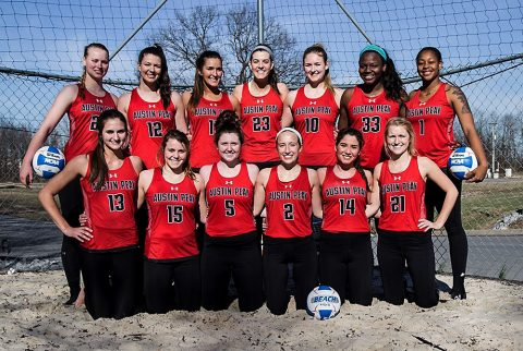 Austin Peay Beach Volleyball Team. (APSU Sports Information)