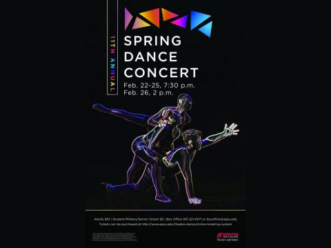 APSU presents 11th Annual Spring Dance Concert now through February 26th.
