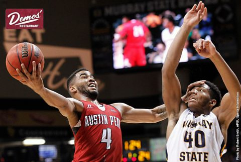 Austin Peay Men's Basketball had no answer for Murray State Saturday. (APSU Sports Information)