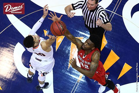 Austin Peay Men's Basketball falls at UT Martin Thursday night. Loss eliminates APSU for OVC Tournament. (APSU Sports Information)