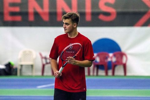 Austin Peay Men's Tennis beats University of Southern Indiana at home 5-2 Friday. (APSU Sports Information)